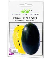 Семена Арбуз Шуга Элоу F1 8шт ТМ Професійне насіння