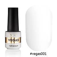 Гель лак №001  Vegas 6 мл