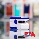 Пульсоксиметр Pulse Oximeter Fingertip LK88 White/Blue, фото 7