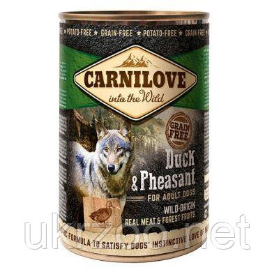 Влажный корм для собак Carnilove Duck & Pheasant 400 г (утка и фазан)