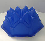 """Силиконовая форма для пирога """"Кристалл"""", фото 6"""