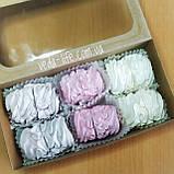 Зефир натуральный на агаре (6 шт. из 2-х половинок) в коробочке. Палитра вкусов на выбор, 200 грамм, фото 5