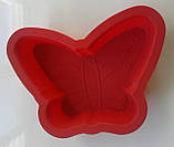 """Силиконовая форма для выпечки """"Бабочка"""", фото 2"""