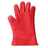 Силиконовая перчатка на 5 пальцев, фото 2