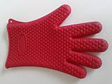 Силиконовая перчатка на 5 пальцев, фото 3