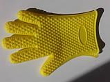 Силиконовая перчатка на 5 пальцев, фото 4