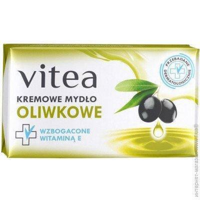 Крем-мыло Vitea Oliwkowe  с оливковым маслом 100гр., фото 2