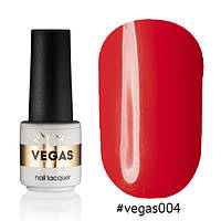 Гель лак №004  Vegas 6 мл