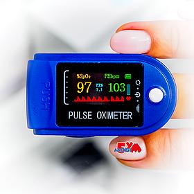 Пульсоксиметр Pulse Oximeter Fingertip 50D с определением индекса перфузии (графический OLED дисплей)