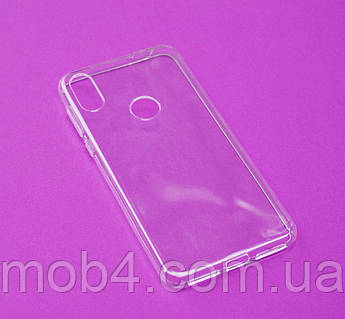Прозорий силіконовий чохол для Motorola Moto One