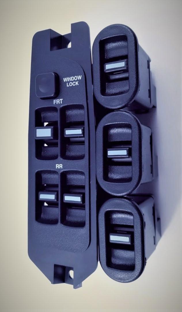 Комплект кнопок стеклоподьемника Нексия grog Корея
