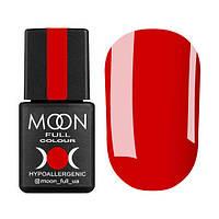 Гель-лак Moon Full Ferrari № 802 (ярко-красный, эмаль), 8 мл