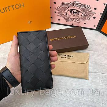 Чоловічий шкіряний гаманець Bottega Veneta