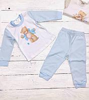 Пижама для мальчика Мишка голубой (80-98)р (Гарден)Garden Baby Украина 34037,02