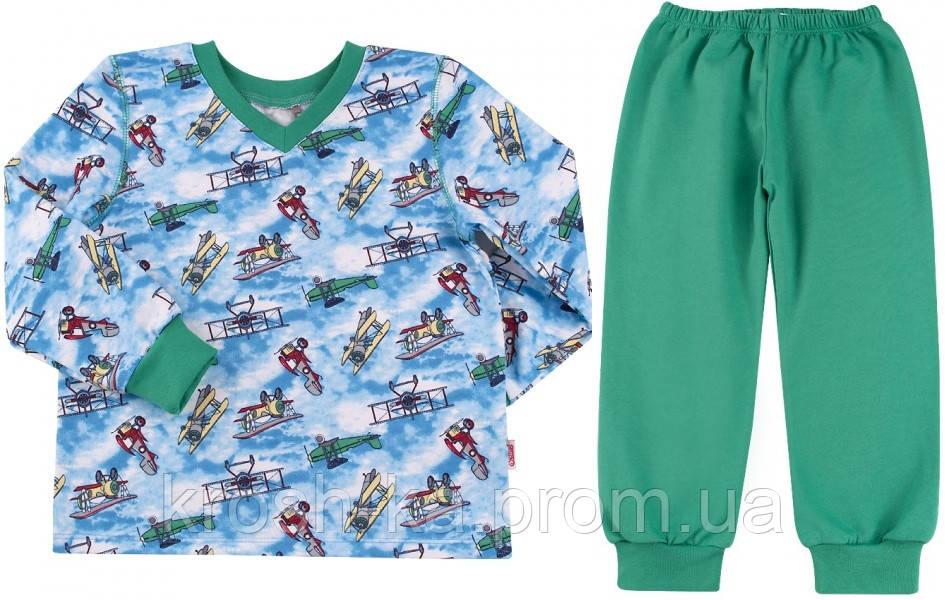 Пижама для мальчика футер (92-104)р (Bembi)Бемби Украина ПЖ47