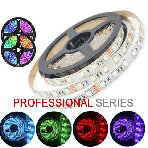 LED лента 5050 60 led/m 14,4W/m IP20 12V RGB серия PROFESSIONAL