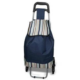 """Сумка для покупок на колесиках со складным стулом, """"Кравчучка"""""""