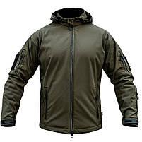 "Куртка SoftShell ""URBAN SCOUT"" OLIVE, фото 4"