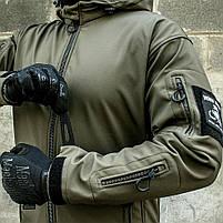 "Куртка SoftShell ""URBAN SCOUT"" OLIVE, фото 5"