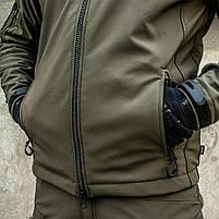 "Куртка SoftShell ""URBAN SCOUT"" OLIVE, фото 9"