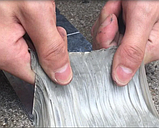 Лента скотч, водонепроницаемая усиленная клейкая лента скотч, Buryl Waterproof tape 1ммХ10смХ5м, фото 4