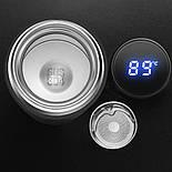 Вакуумный термос 500мл с LCD индикатором температуры Black, фото 7