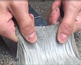 Лента скотч, водонепроницаемая усиленная клейкая лента скотч, Buryl Waterproof tape 1ммХ15смХ5м, фото 4
