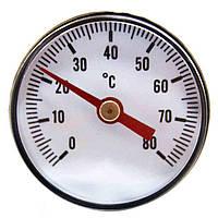 "Термометр аксиальный AW 1/4"" 80°C (Ø40/35мм)"
