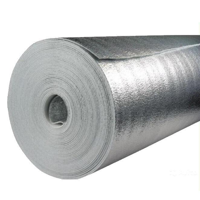 Отражающая односторонняя рулонная изоляция 2мм (рулон 50м.п.)
