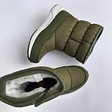 Детские угги сапоги зеленые для мальчика и девочки, фото 5