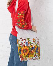 Эко сумка для покупок Подсолнух, фото 3