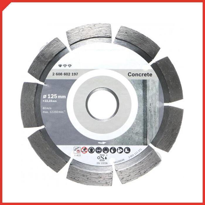 Алмазный диск BOSCH Standard for Concrete 125х22мм по бетону 2608602197