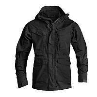 Тактическая куртка classic American ESDY A010 M65 2XL Black (5126-18465)