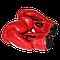 Детские боксерские перчатки 8 унций ЛЕВ кожзам (синие, красные, черные), фото 5