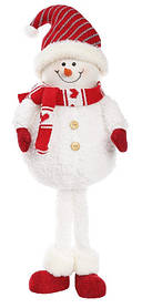Мягкая новогодняя игрушка Снеговик 62см. (822-149)