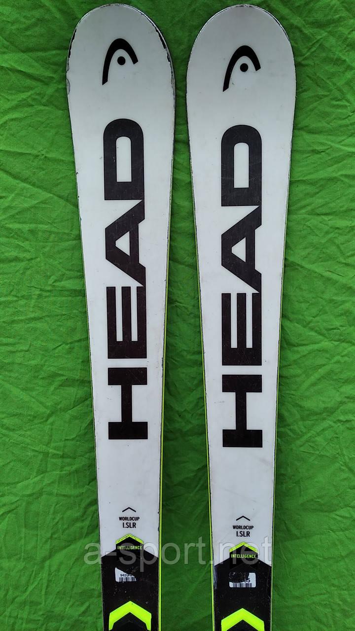 Гірські лижі бу  Head WC Rebels i.SLR 165 см експертний карвінг 2019р