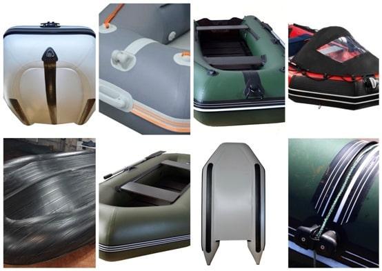 Комплектующие и фурнитура для лодок ПВХ - защитный брус ПВХ для надувных лодок