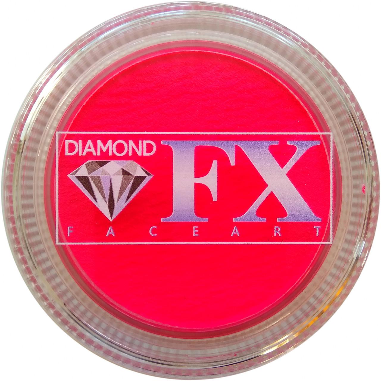 Аквагрим Diamond FX неон розовый 30g