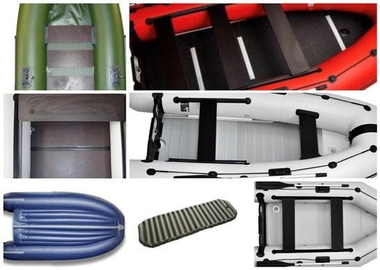 Комплектующие для надувных лодок ПВХ - пол в надувных лодках