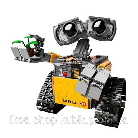 Конструктор Робот ВАЛЛ-И в цветной коробке.