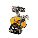 Конструктор Робот ВАЛЛ-И в цветной коробке., фото 3