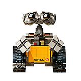 Конструктор Робот ВАЛЛ-И в цветной коробке., фото 2