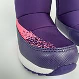 Детские угги сапоги фиолетовые для мальчика и девочки, фото 6