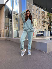 Женский спортивный костюм Dizzy мятного цвета, фото 3