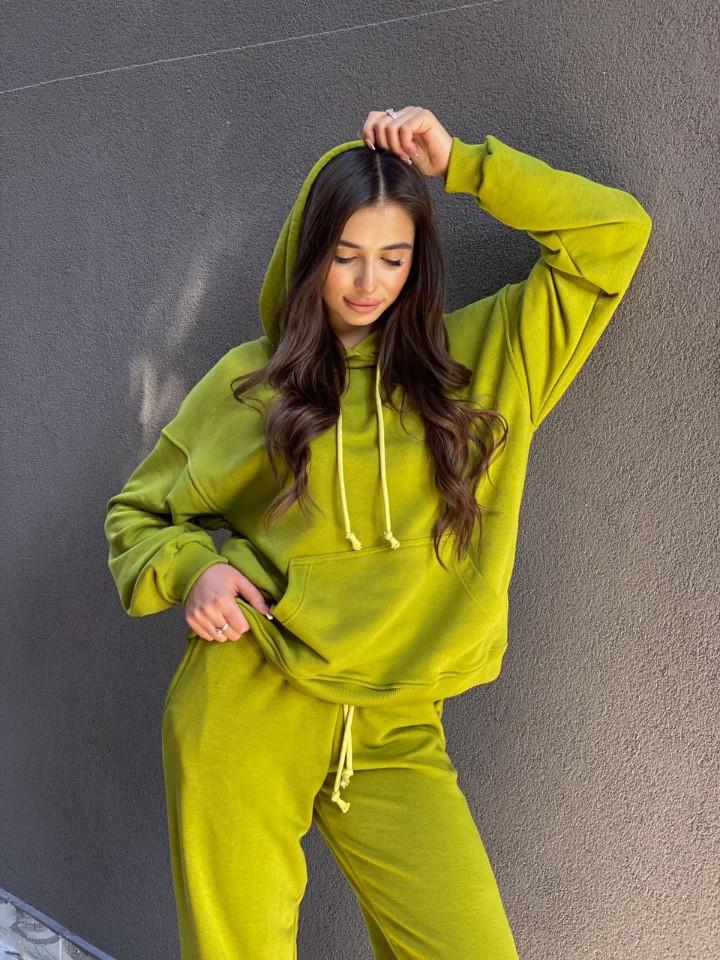 Женский спортивный костюм Dizzy зеленого цвета
