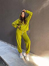 Женский спортивный костюм Dizzy зеленого цвета, фото 2