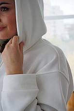 Женский костюм кенгуру Dizzy зимний на флисе молочного цвета белый, фото 2