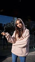 Кофта кенгуру женская Dizzy цвет пудра женская худи