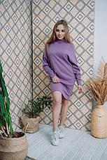 Платье Dizzy лиловое из ангоры, фото 3