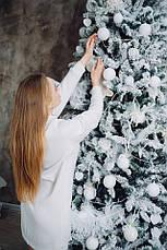 Платье Dizzy белое из ангоры цвет молоко, фото 3